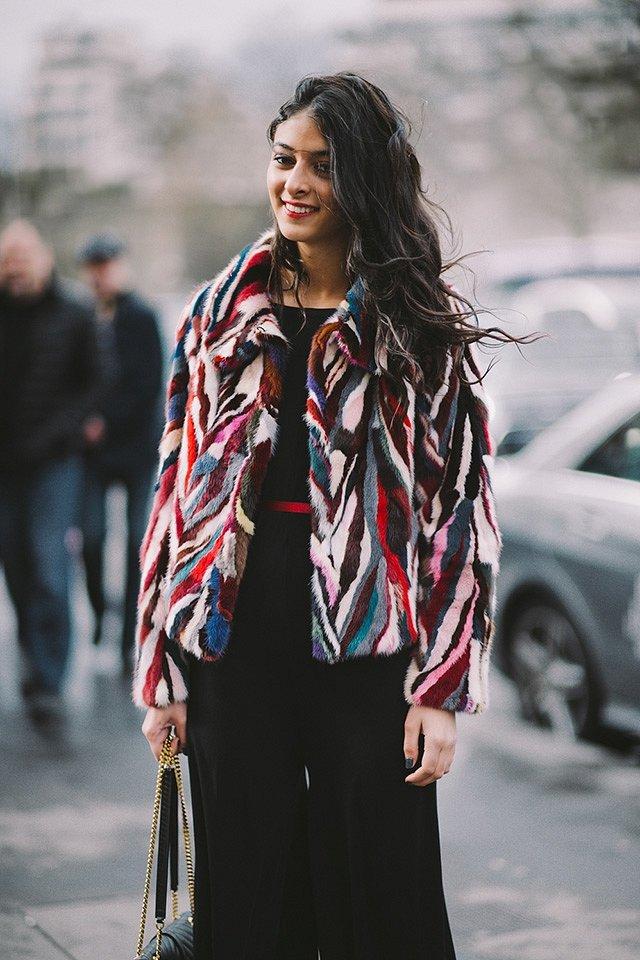 Street style на Неделе высокой моды в Париже весна-лето 2016 фото №36