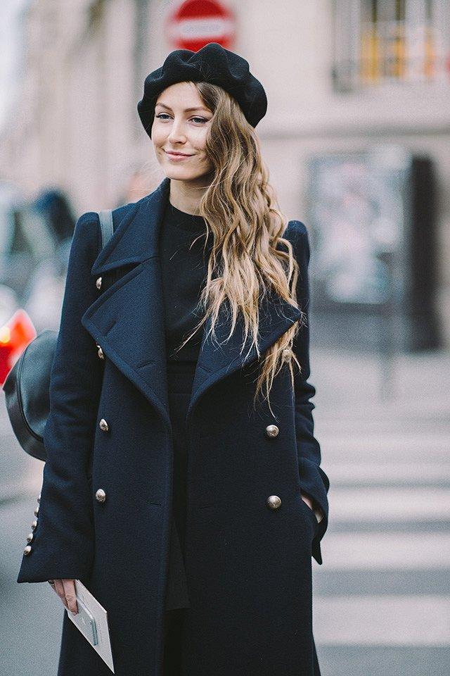 Street style на Неделе высокой моды в Париже весна-лето 2016 фото №38