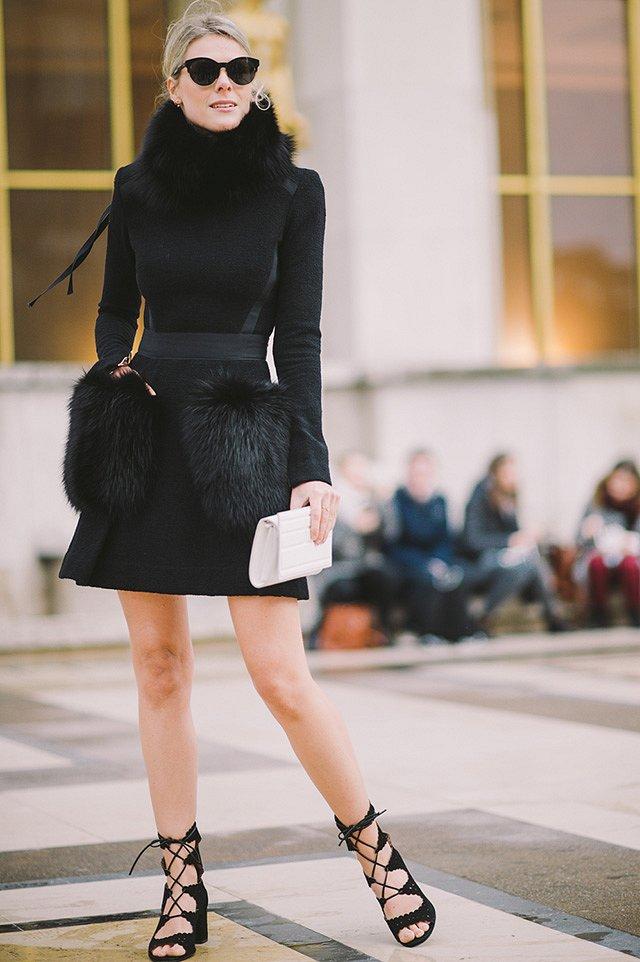 Street style на Неделе высокой моды в Париже весна-лето 2016 фото №3