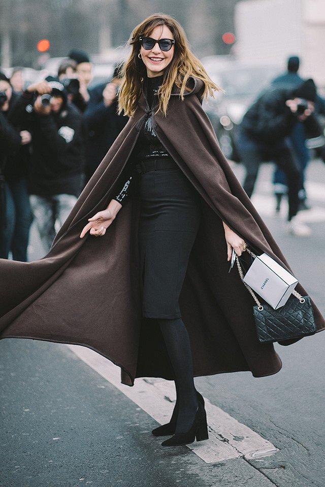 Street style на Неделе высокой моды в Париже весна-лето 2016 фото №41