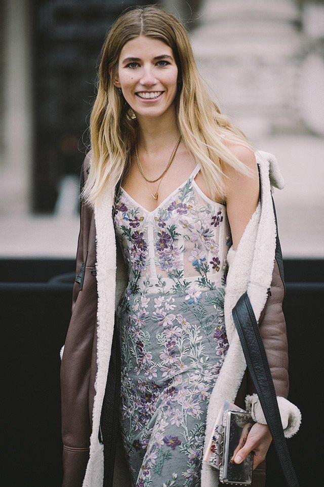 Street style на Неделе высокой моды в Париже весна-лето 2016 фото №45