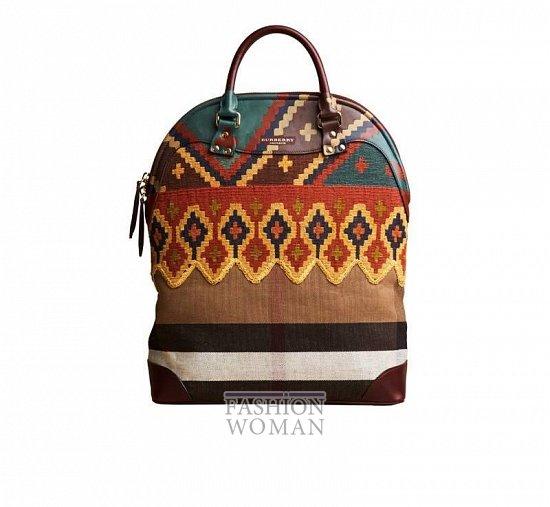 сумки Burberry Prorsum осень-зима 2014-2015
