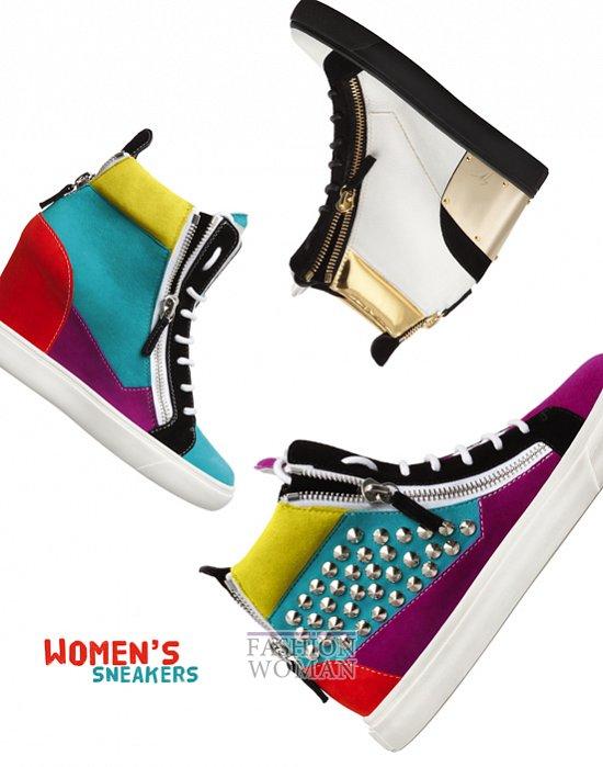 Сумки и обувь Giuseppe Zanotti осень-зима 2012-2013 фото №20