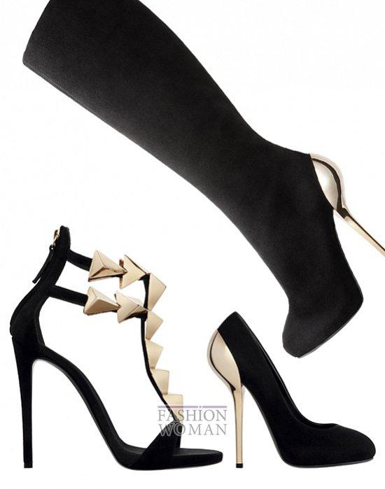 Сумки и обувь Giuseppe Zanotti осень-зима 2012-2013 фото №10