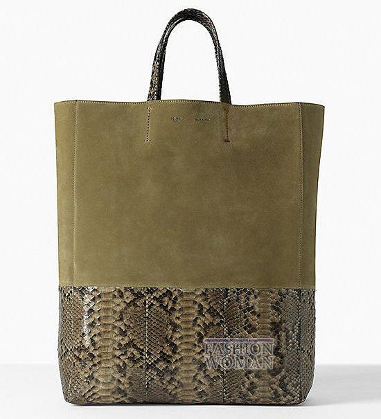 Известный французский бренд Celine представил коллекцию. сумок...