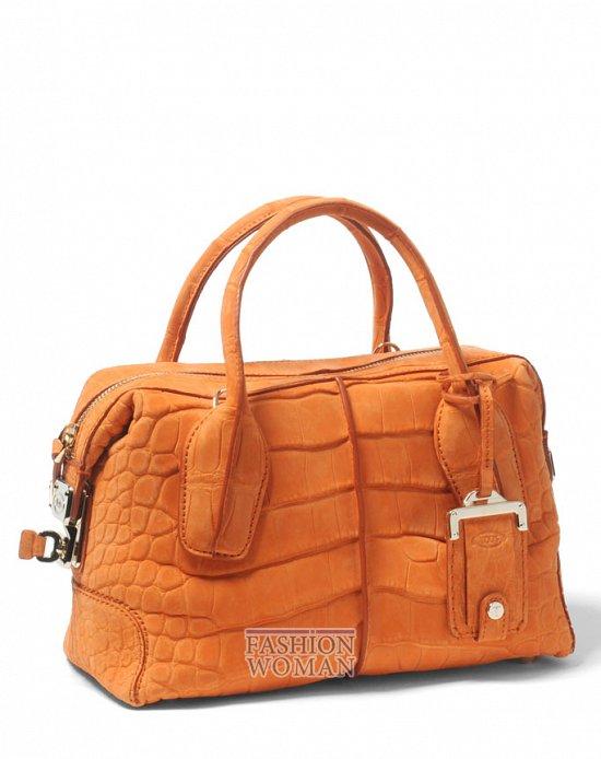 оранжевая сумка лето 2012