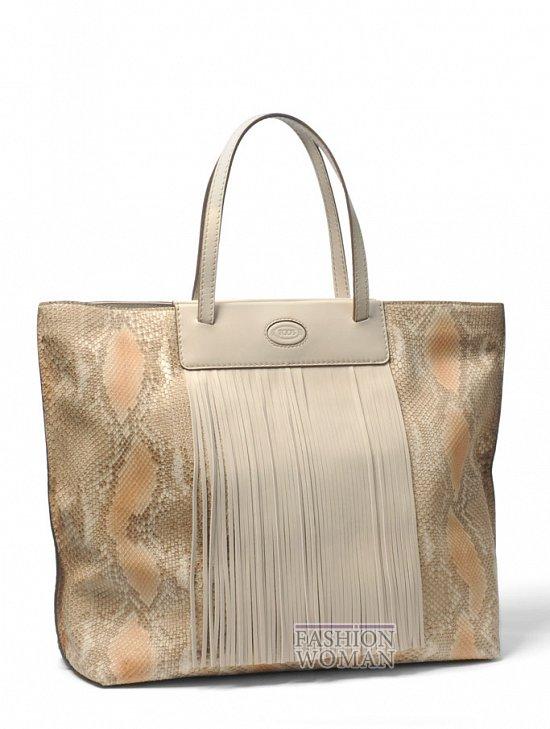 летняя сумка Tote Tod's