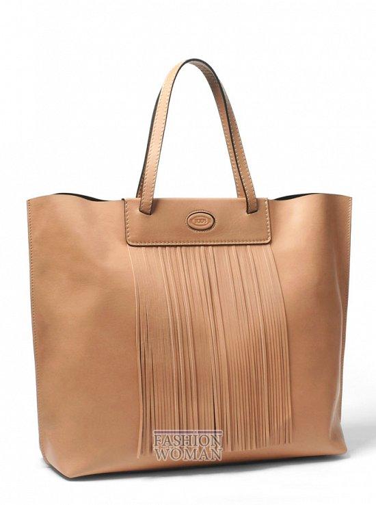 летняя сумка Tod's