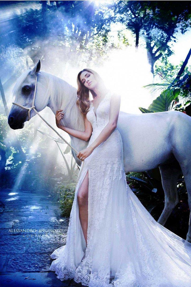 Свадебная коллекция Alessandro Angelozzi Couture 2017 фото №6