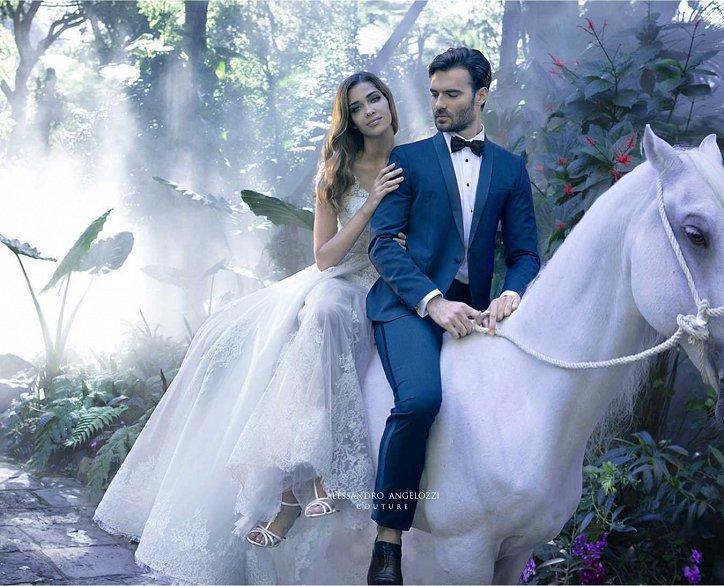 Свадебная коллекция Alessandro Angelozzi Couture 2017 фото №3