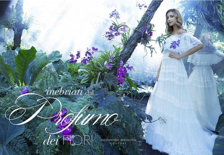 Свадебная коллекция Alessandro Angelozzi Couture 2017 фото №9