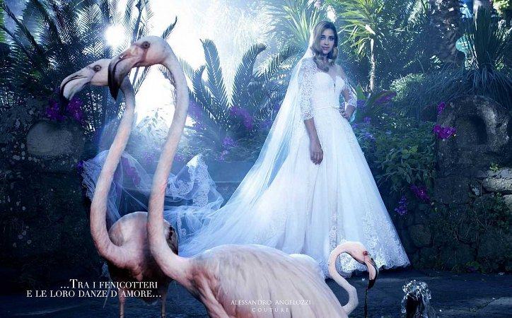 Свадебная коллекция Alessandro Angelozzi Couture 2017 фото №12