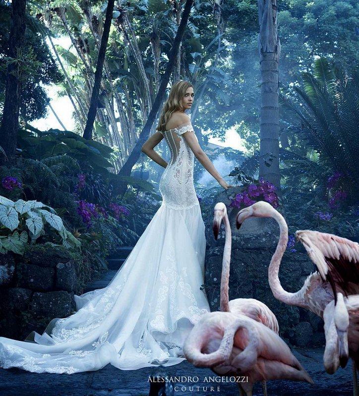 Свадебная коллекция Alessandro Angelozzi Couture 2017 фото №13