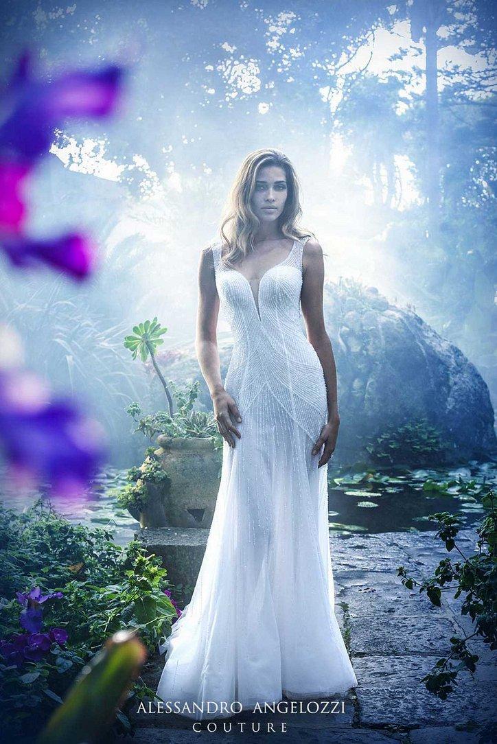 Свадебная коллекция Alessandro Angelozzi Couture 2017 фото №17