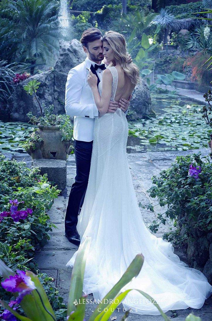 Свадебная коллекция Alessandro Angelozzi Couture 2017 фото №18