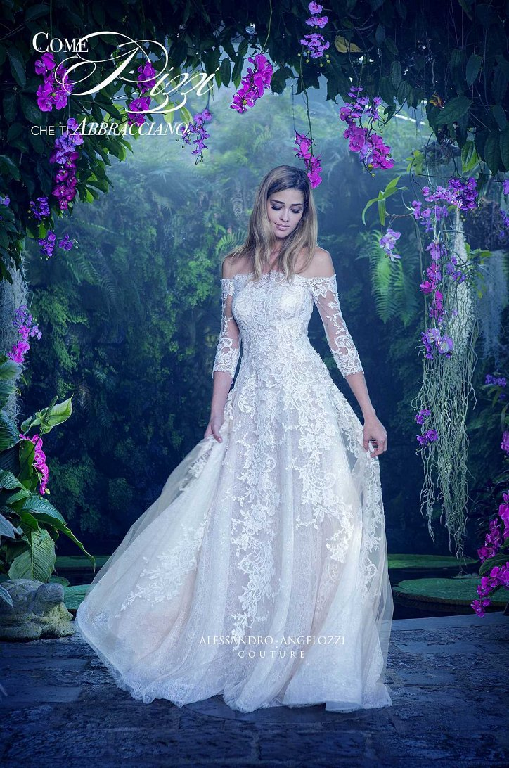 Свадебная коллекция Alessandro Angelozzi Couture 2017 фото №19