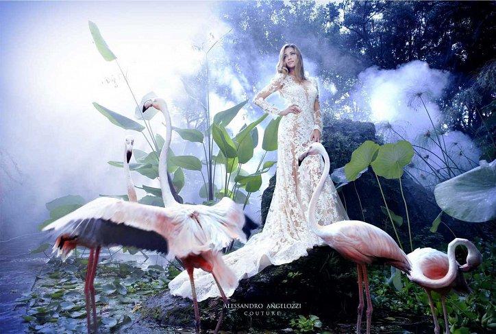 Свадебная коллекция Alessandro Angelozzi Couture 2017 фото №21