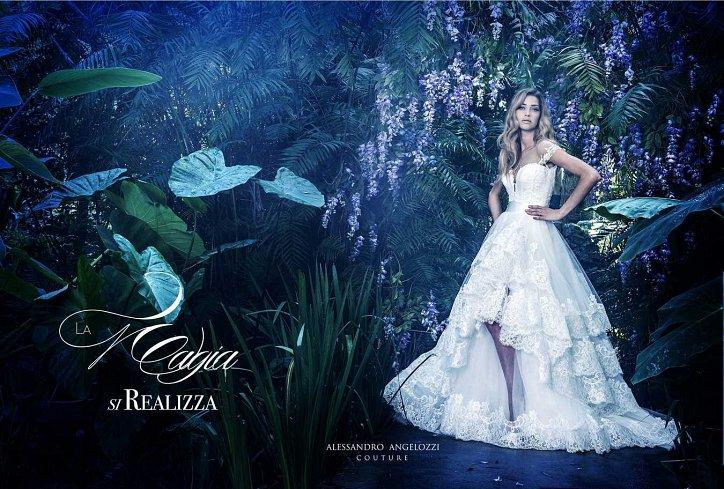 Свадебная коллекция Alessandro Angelozzi Couture 2017 фото №23