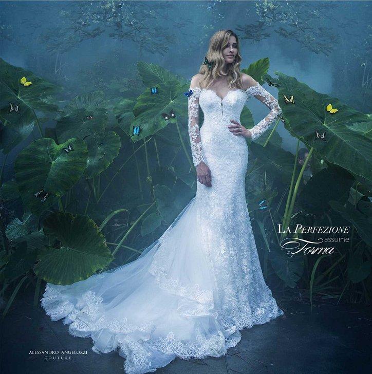 Свадебная коллекция Alessandro Angelozzi Couture 2017 фото №24