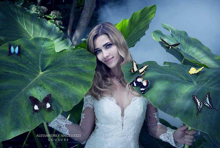 Свадебная коллекция Alessandro Angelozzi Couture 2017 фото №25