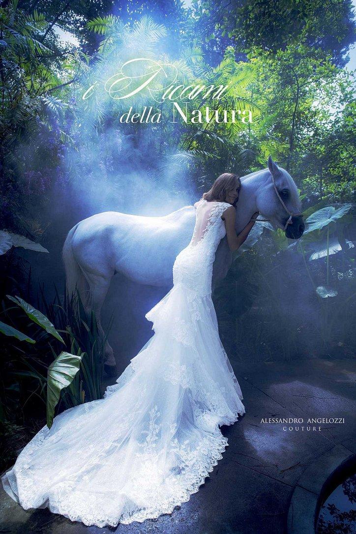 Свадебная коллекция Alessandro Angelozzi Couture 2017 фото №26