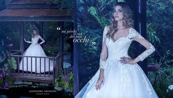 Свадебная коллекция Alessandro Angelozzi Couture 2017 фото №29