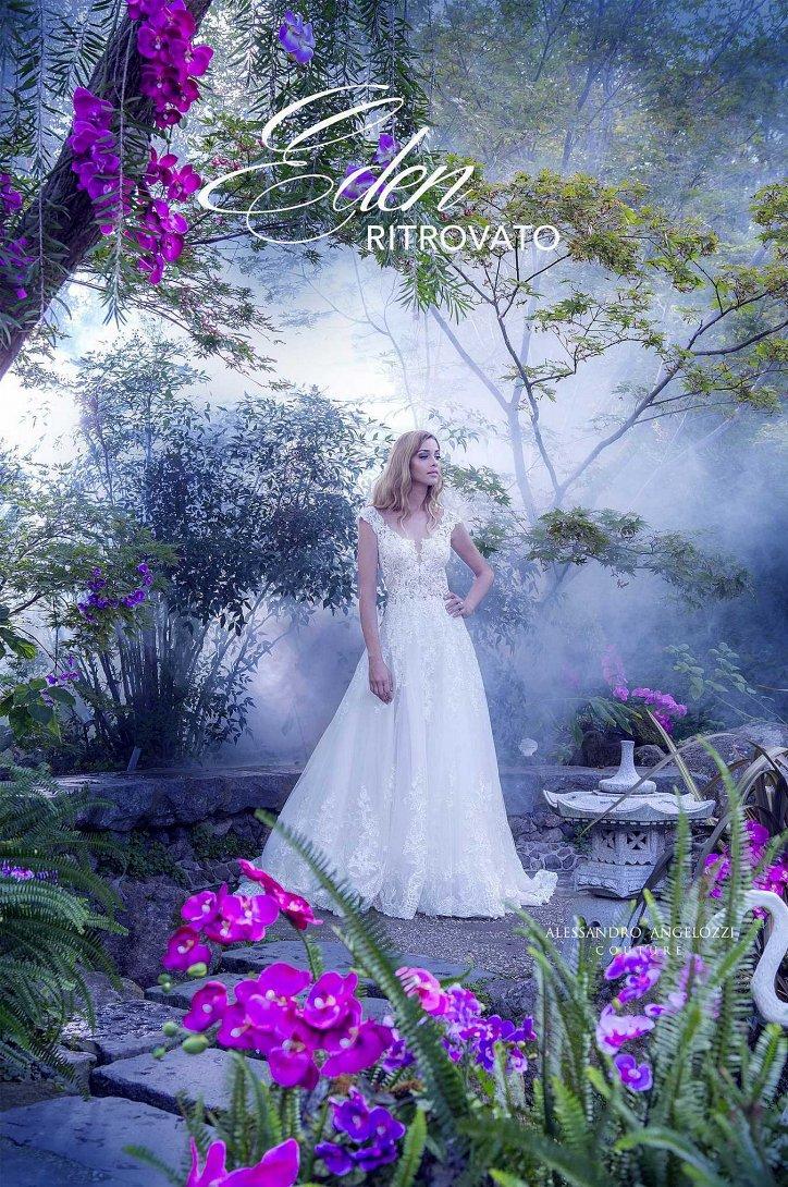 Свадебная коллекция Alessandro Angelozzi Couture 2017 фото №31