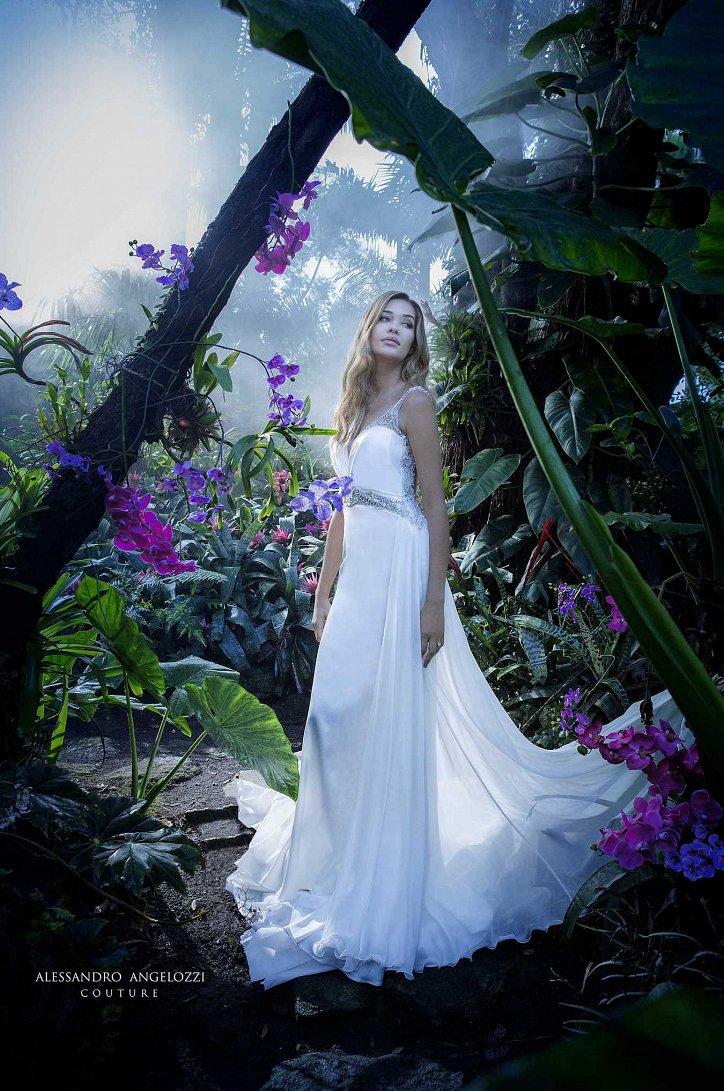 Свадебная коллекция Alessandro Angelozzi Couture 2017 фото №38