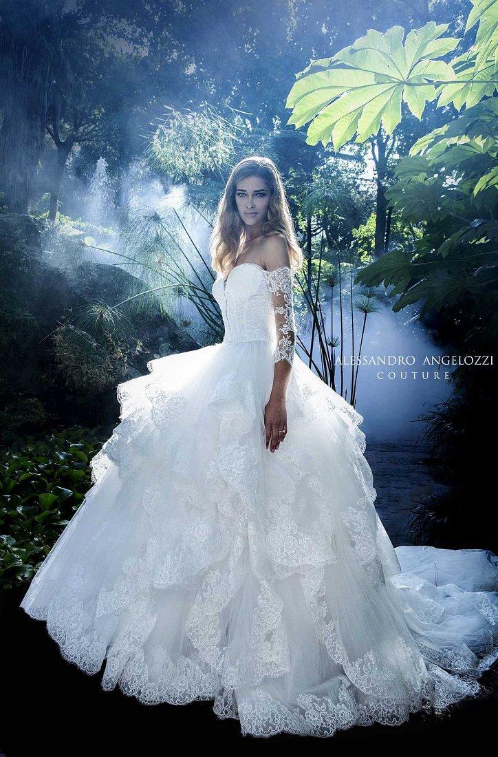 Свадебная коллекция Alessandro Angelozzi Couture 2017 фото №40