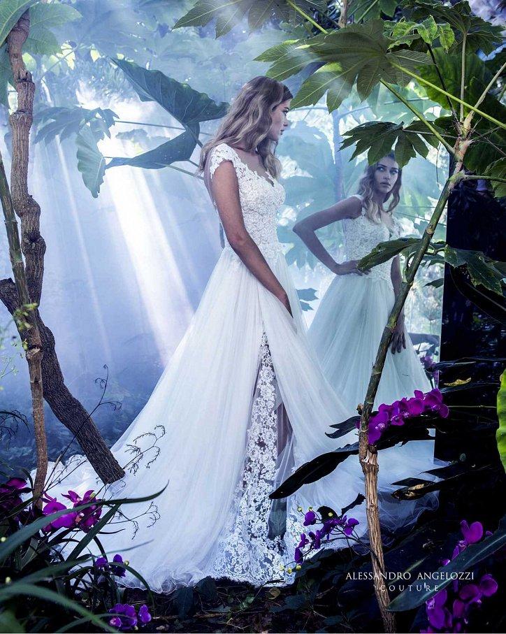Свадебная коллекция Alessandro Angelozzi Couture 2017 фото №41
