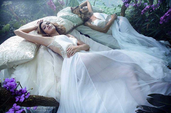 Свадебная коллекция Alessandro Angelozzi Couture 2017 фото №42