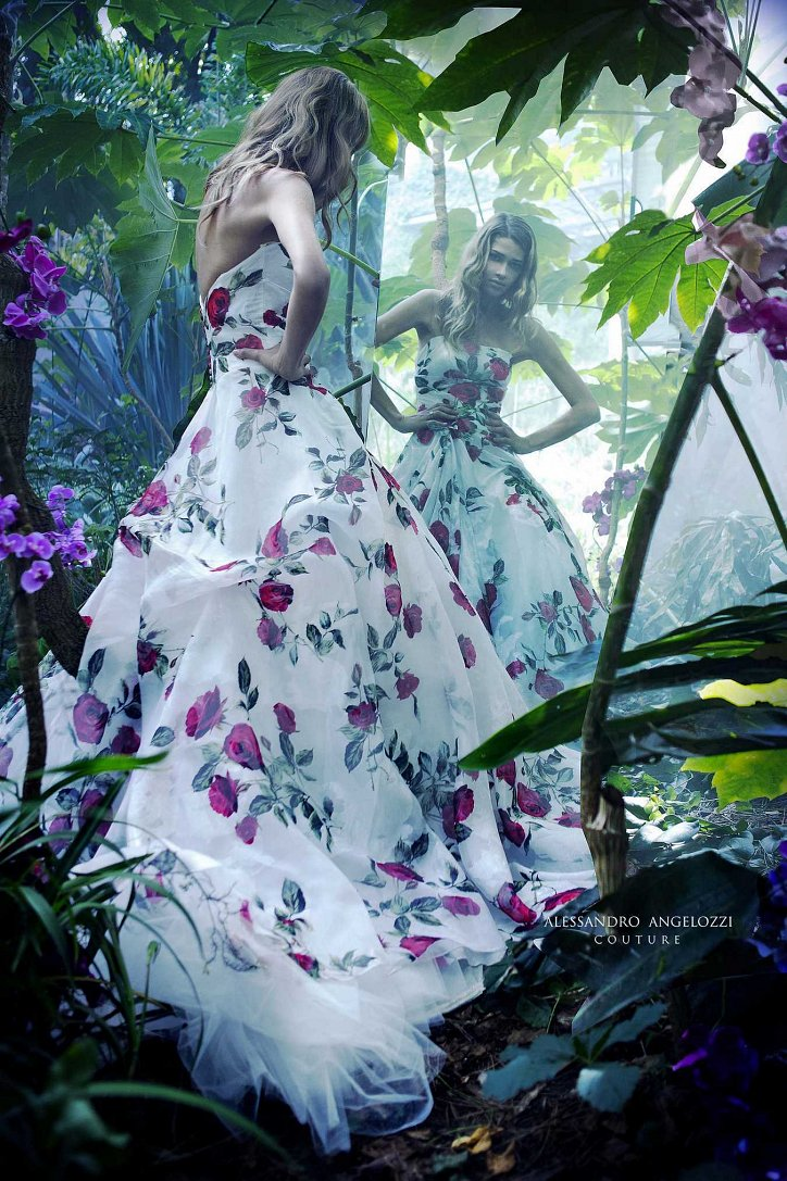 Свадебная коллекция Alessandro Angelozzi Couture 2017 фото №44