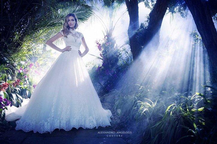Свадебная коллекция Alessandro Angelozzi Couture 2017 фото №45