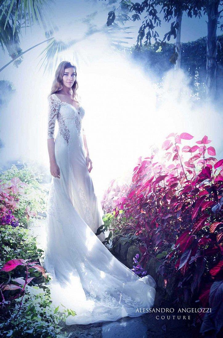 Свадебная коллекция Alessandro Angelozzi Couture 2017 фото №47