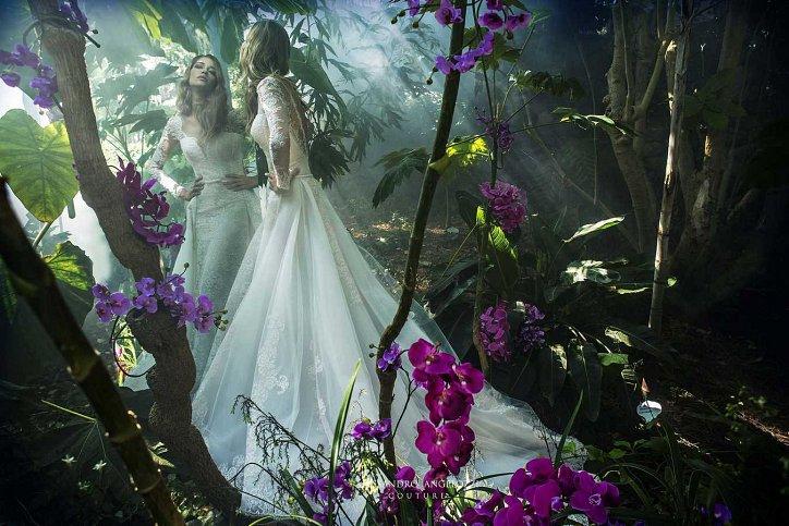 Свадебная коллекция Alessandro Angelozzi Couture 2017 фото №49