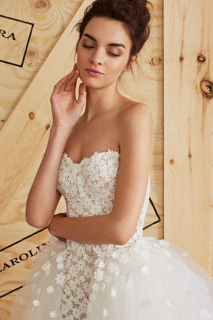 Свадебная коллекция Carolina Herrera весна 2017