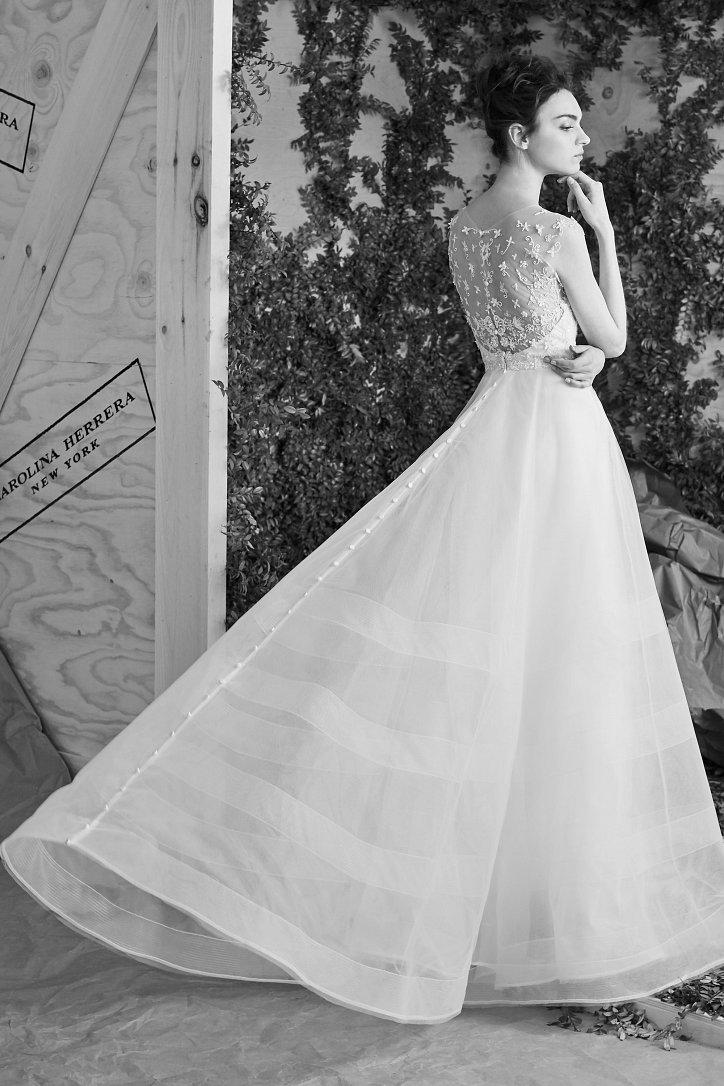 Свадебная коллекция Carolina Herrera весна 2017 фото №4
