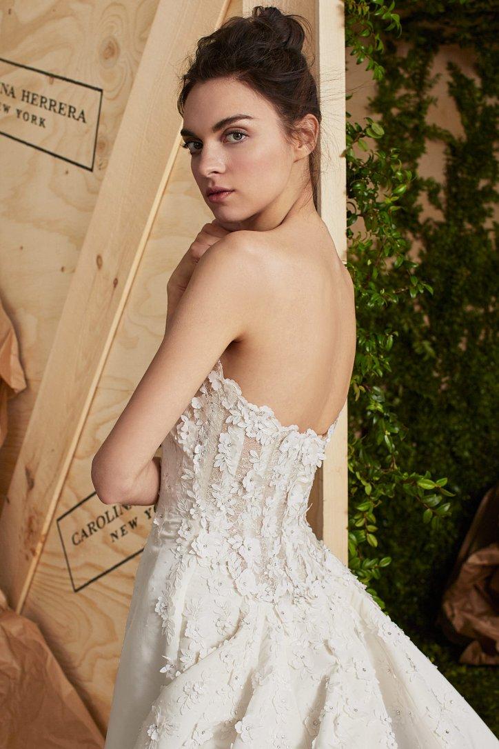 Свадебная коллекция Carolina Herrera весна 2017 фото №6