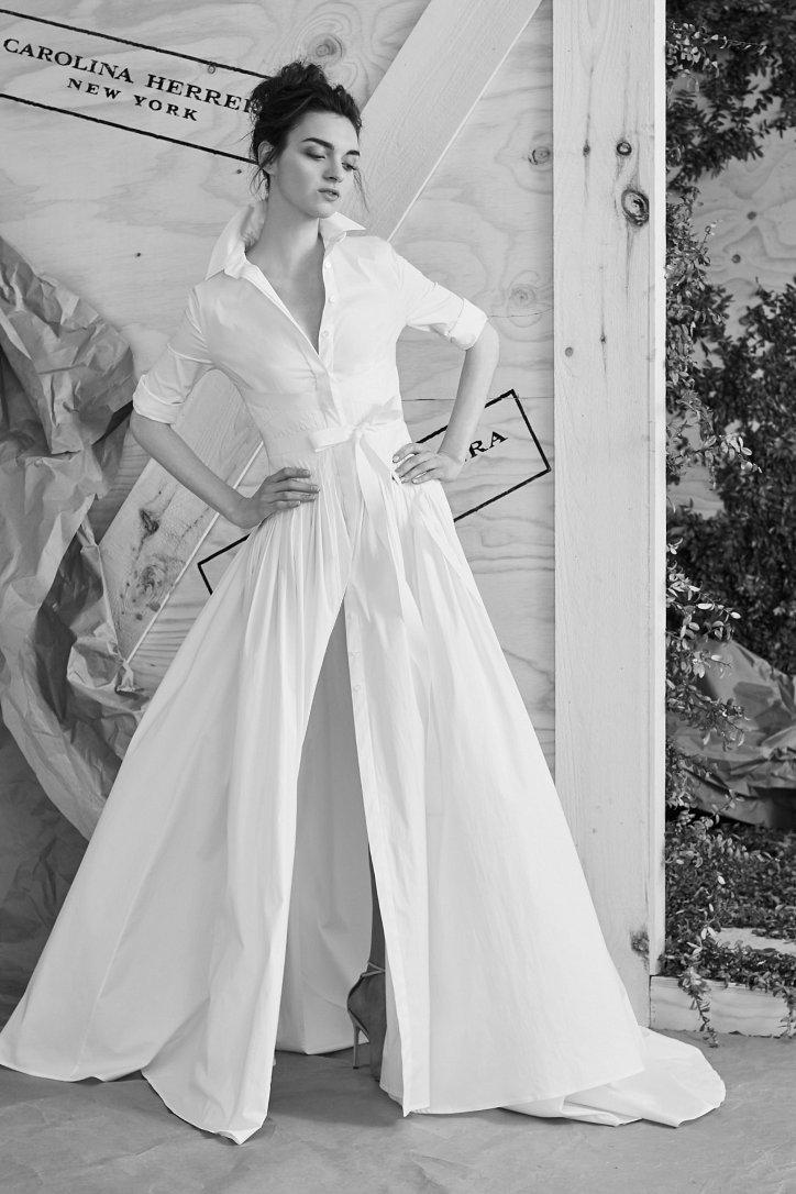 Свадебная коллекция Carolina Herrera весна 2017 фото №8