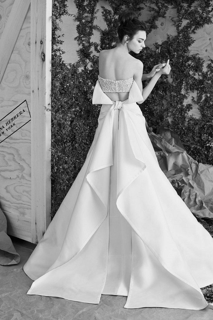 Свадебная коллекция Carolina Herrera весна 2017 фото №12