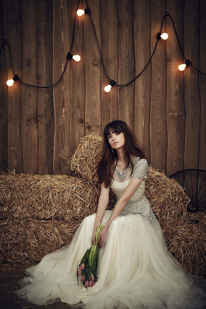 Свадебная коллекция Jenny Packham весна 2017 фото №6