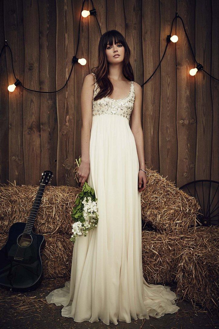 Свадебная коллекция Jenny Packham весна 2017 фото №7