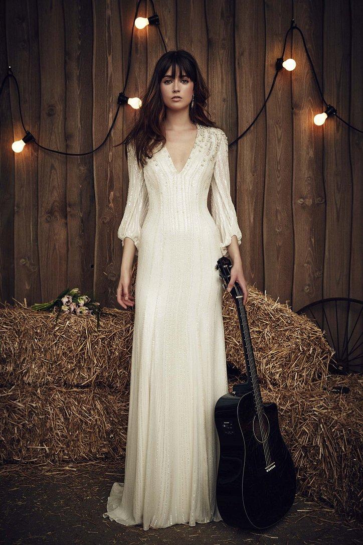 Свадебная коллекция Jenny Packham весна 2017 фото №8