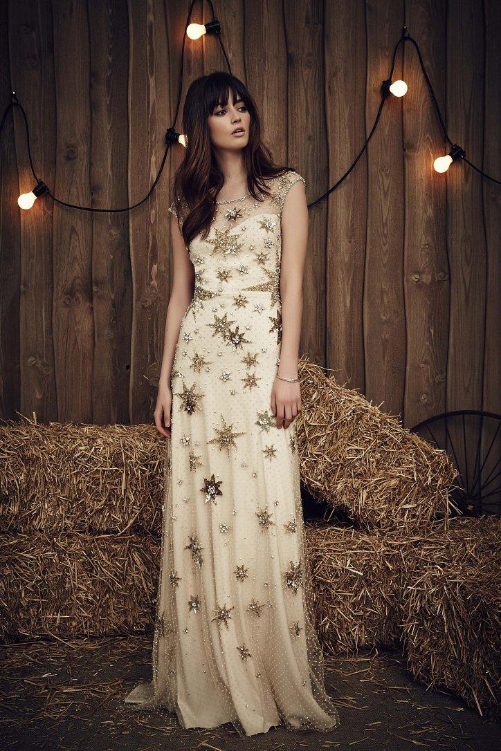 Свадебная коллекция Jenny Packham весна 2017 фото №9