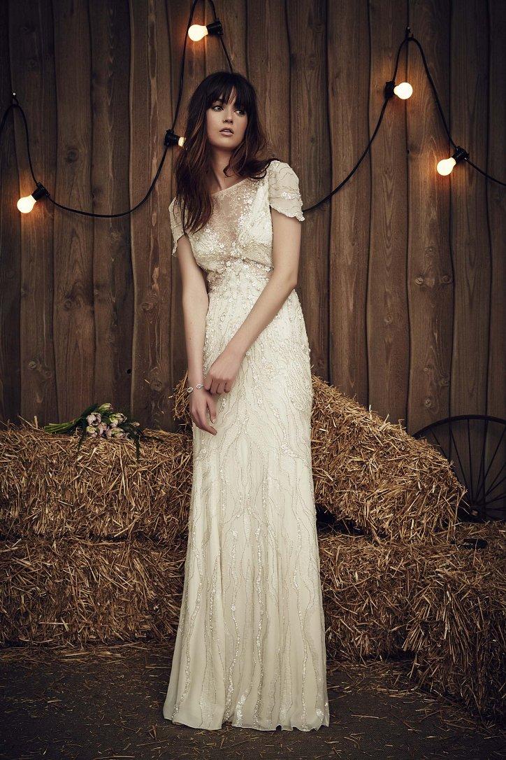Свадебная коллекция Jenny Packham весна 2017 фото №10