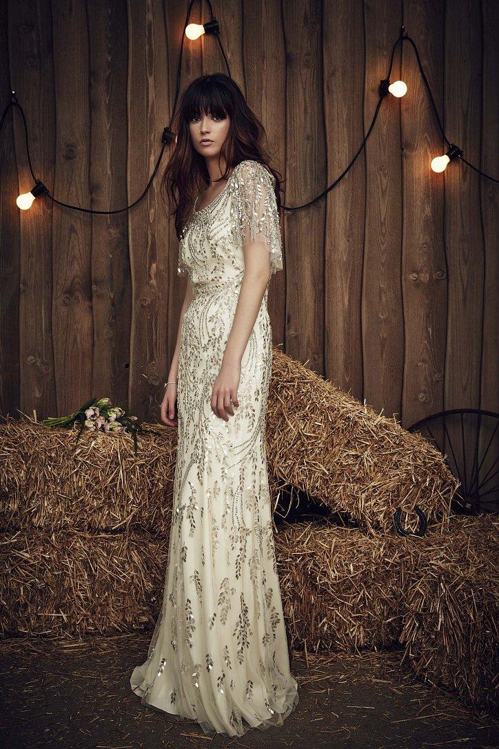 Свадебная коллекция Jenny Packham весна 2017 фото №11