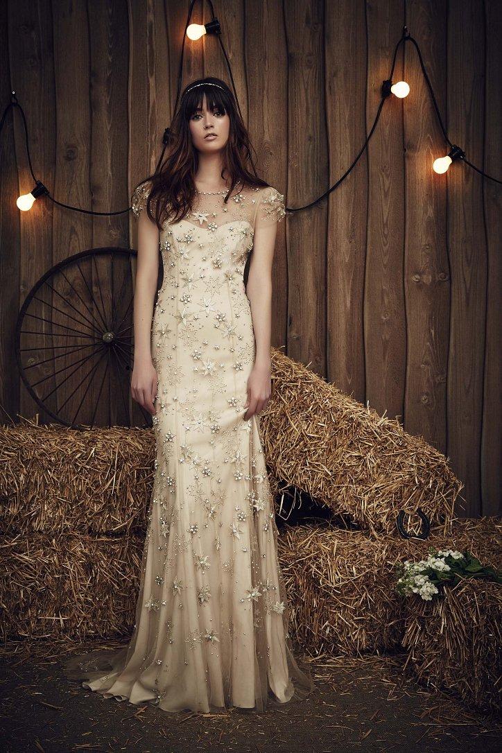 Свадебная коллекция Jenny Packham весна 2017 фото №12