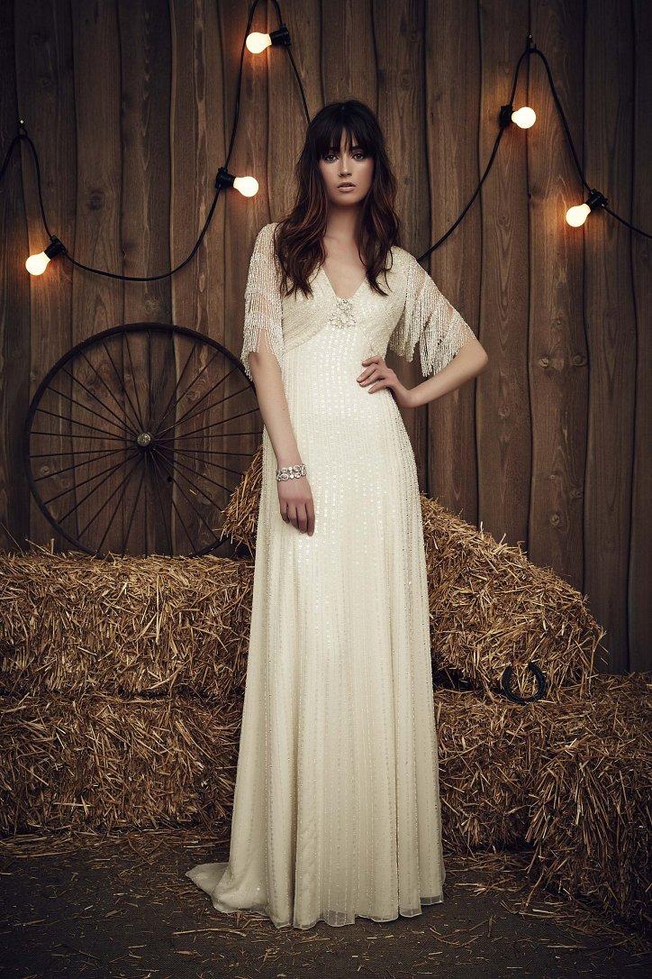 Свадебная коллекция Jenny Packham весна 2017 фото №13