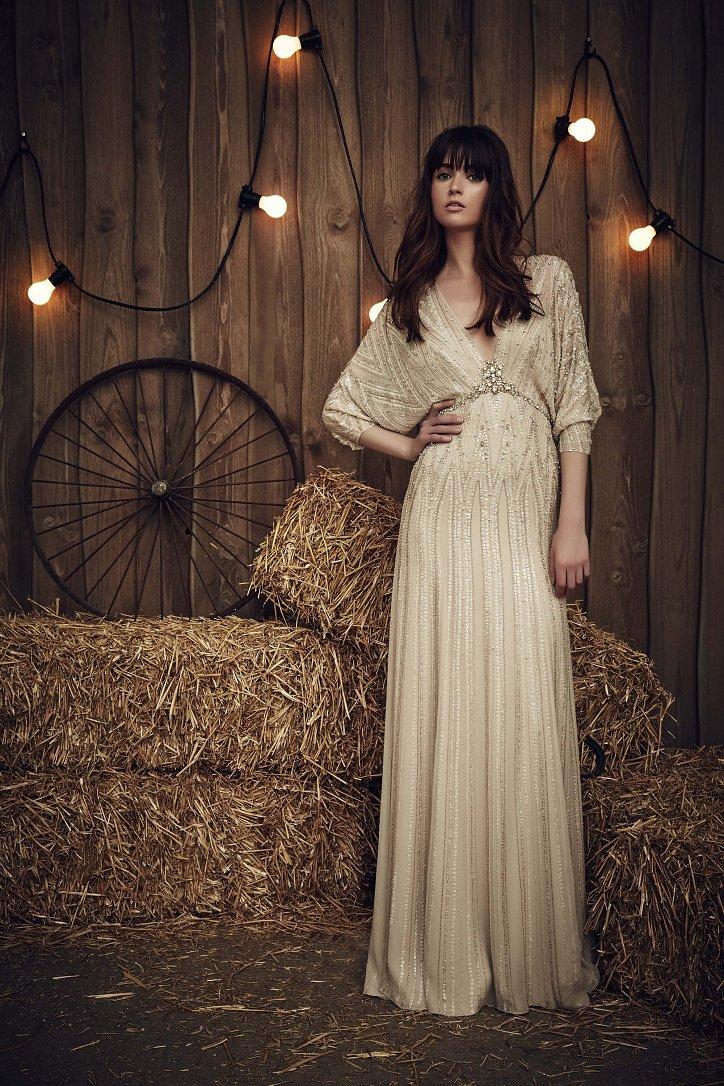 Свадебная коллекция Jenny Packham весна 2017 фото №14