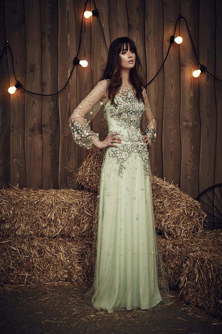 Свадебная коллекция Jenny Packham весна 2017 фото №17